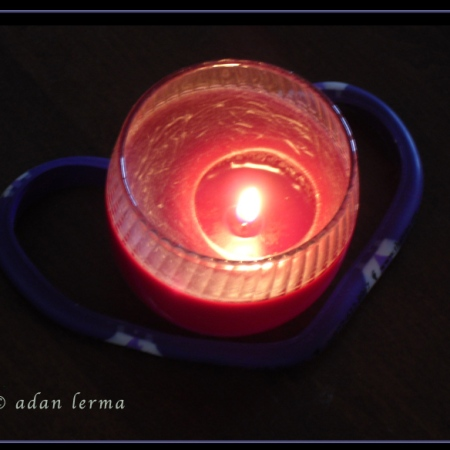 Candle at Rest © Felipe Adan Lerma - Does Cross Training = Recovery Time? — My Yoga-to-Dance aha! Moments! – # 4 - https://felipeadanlerma.com/2011/03/23/does-cross-training-recovery-time-my-yoga-to-dance-aha-moments-4/