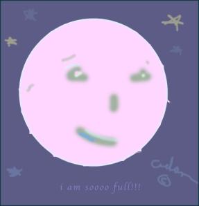 I Am Soooo Full!!!