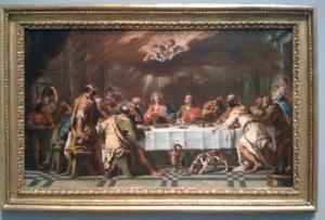 """""""Last Supper"""" Sebastiano Ricci circa 1720"""