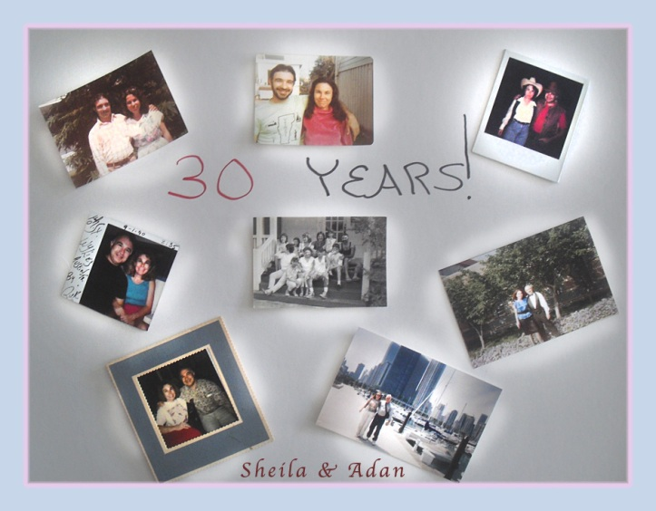 30th Anniversary Collage