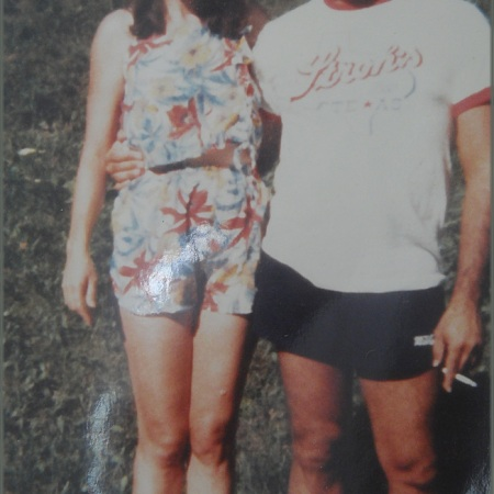 Sheila and Adan Circa 1981