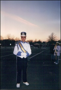 Scotty in Uniform as a Teen