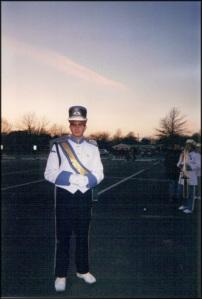 Scotty in Uniform as a Teen