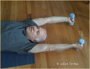 Touch a Stretch with Weights