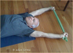 Touch a Stretch with an Elastic Band
