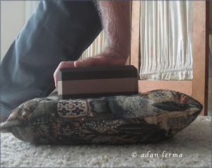 Wrist Extension Using Block & Pillow
