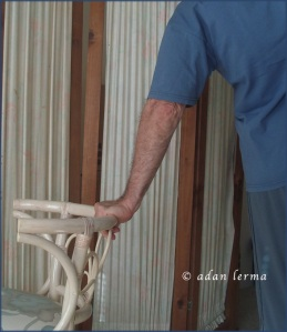 Wrist Extension Using Chair as Prop