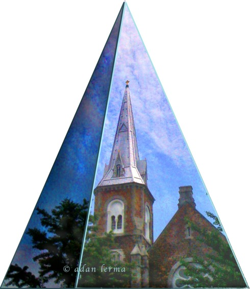 Pyramid with Steeple