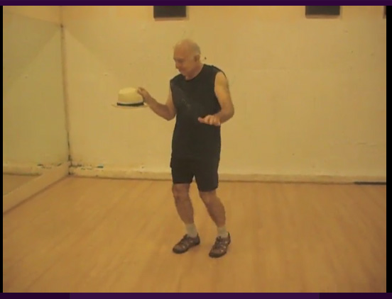 "Image Excerpt from ""Senior Pause"" video, 2"