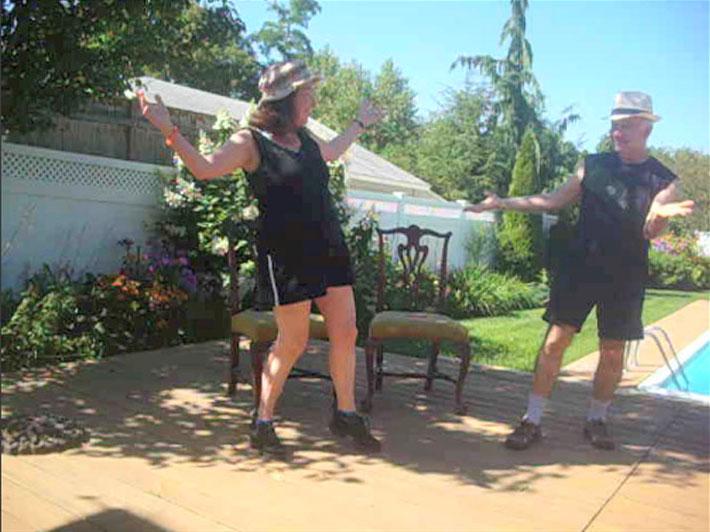 "Sheila & Adan in ""Pause"" video 2"