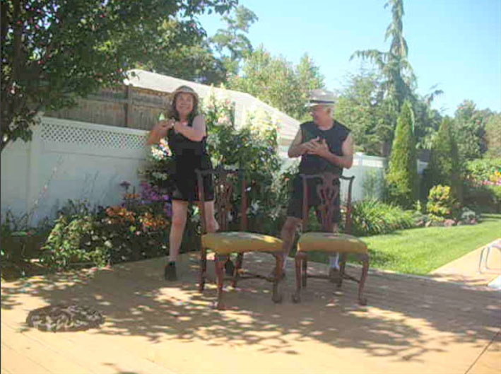 "Sheila & Adan in ""Pause"" video 3"