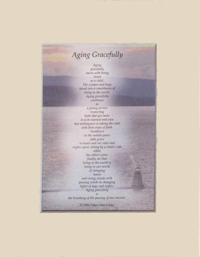 Aging Gracefully Gift Writing On Amazon