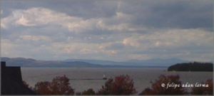Hills Across Lake Champlain