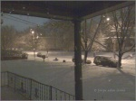 Snow Thru Window