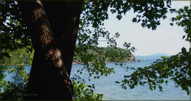 Vermont PhotoPoem #1, Rock Point
