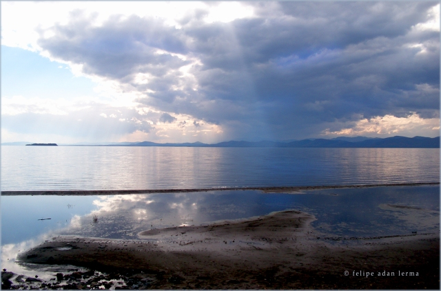 Cell Storm Over Lake Champlain