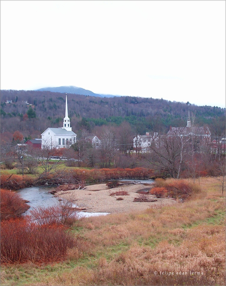 Church by Stowe Village