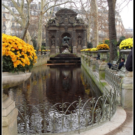 Medici Fountain, Luxembourg Gardens, Paris ©Felipe Adan Lerma