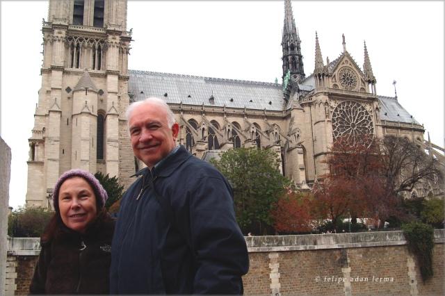 Sheila & Adan at Notre Dame Quay