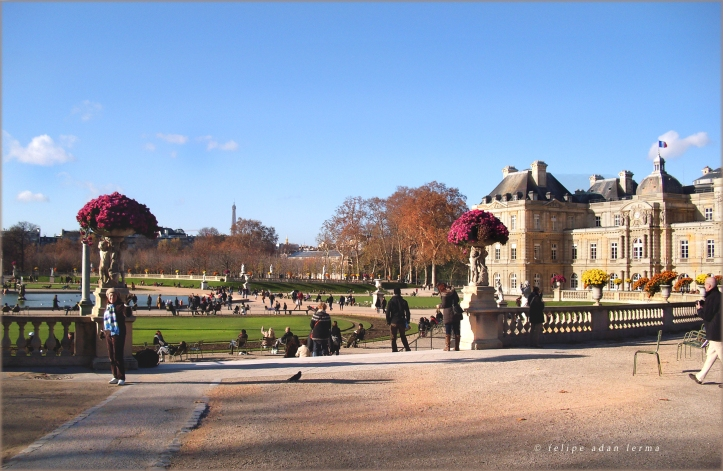 Another Angel, Sheila at Luxembourg Gardens ;-)
