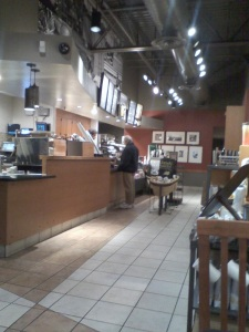 Adan Getting Coffee