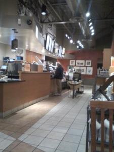 Adan Getting Coffee