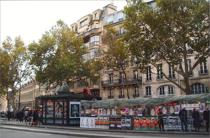 Near Odeon, St Germain Area