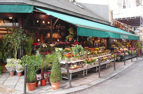 Flower Shop Rue Saint-Andre des Arts