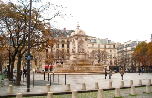 Fountaine Place St Sulpice