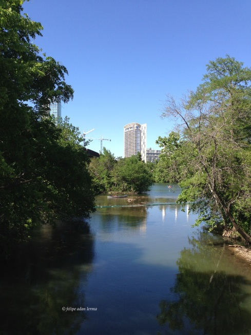 Inlet on Lady Bird Lake, Austin Texas