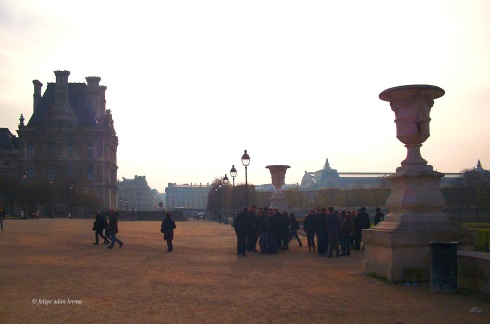 Morning Gathering in the Tuileries