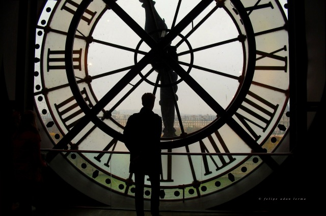 Second Horloge du Musée d'Orsay v2, Photography by Felipe Adan Lerma