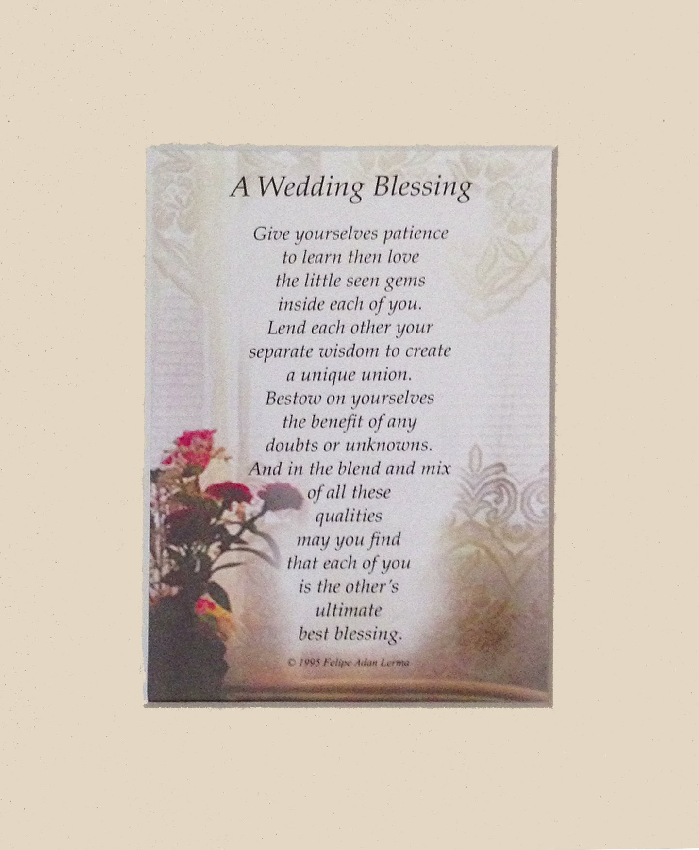 The Wedding Blessing The Poetry Of Unions