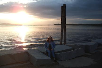 Sheila at Perkins Pier, Burlington Vermont © Felipe Adan Lerma