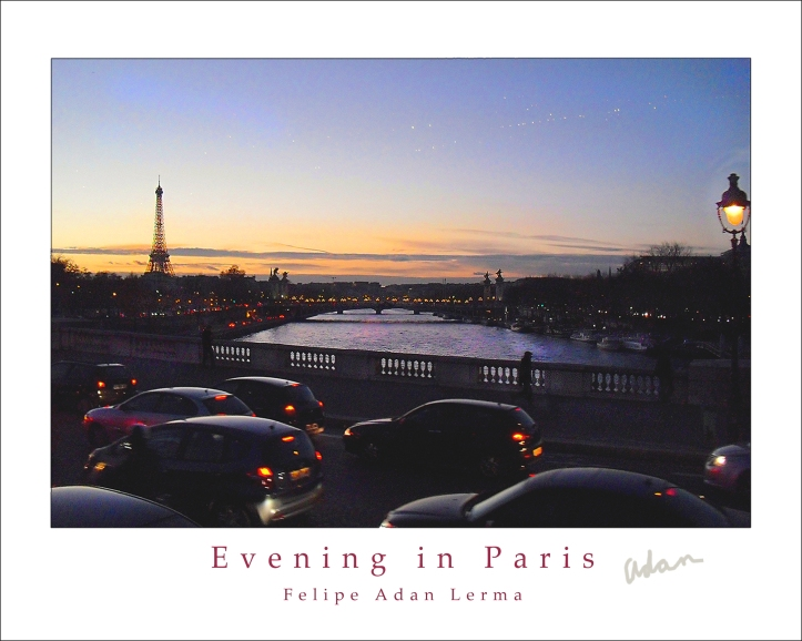 Evening in Paris © felipe adan lerma