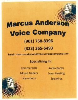 Marcus Anderson www.marcusanderson.com