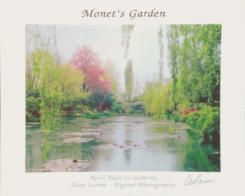 April Rain at Monet's Garden © felipe adan lerma