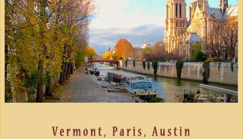 Love's Travels - Vermont, Paris, Austin ©Felipe Adan Lerma https://amzn.to/31V345l