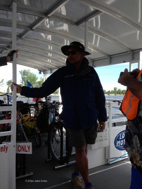 5 works the bike ferry each summer