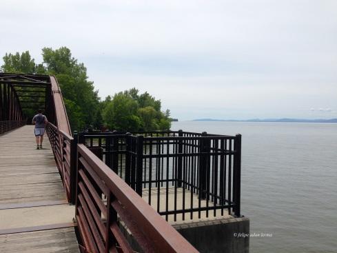bike bridge over winooski river
