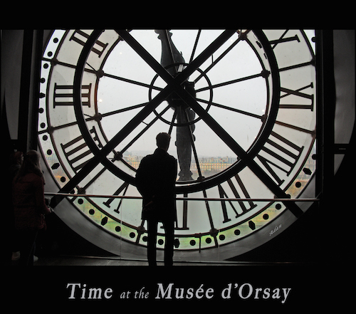 Time at the Musee dOrsay * @Felipe Adan Lerma * All Rights Reserved https://fineartamerica.com/featured/time-at-the-musee-dorsay-felipe-adan-lerma.html .