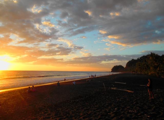 Playa Hermosa Puntarenas Costa Rica - Sunset A One ** © Felipe Adan Lerma - All Rights Reserved - https://fineartamerica.com/featured/playa-hermosa-puntarenas-costa-rica-sunset-a-one-felipe-adan-lerma.html .