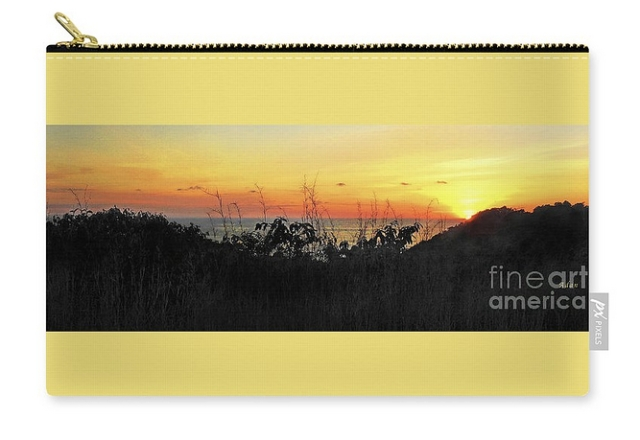 la Casita Playa Hermosa Puntarenas Costa Rica - Sunset A Panorama Carry-all Pouch - ©Felipe Adan Lerma * All Rights Reserved
