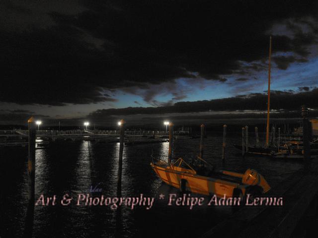 Perkins Pier Sunset * @Felipe Adan Lerma