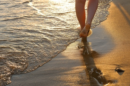 Regina Puckett Poetry Toes in the sand