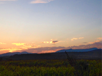 Late Evening Sunset, Mount Mansfield © Felipe Adan Lerma