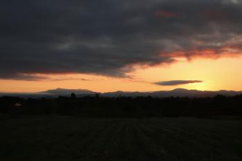 Mount Mansfield September Sunrise Five, 5:50 am © Felipe Adan Lerma; 5th of 7 in my Vermont sunrise photo shoot.