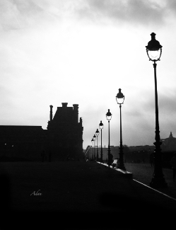 To the Tuileries Paris BW ©Felipe Adan Lerma