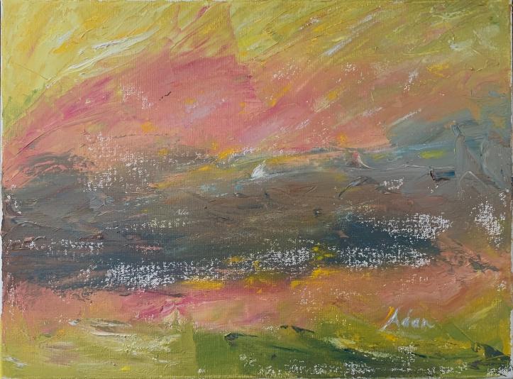 In the Light © Felipe Adan Lerma - Palette Knife Painting - FIne Art Amerca - https://fineartamerica.com/featured/in-the-light-felipe-adan-lerma.html
