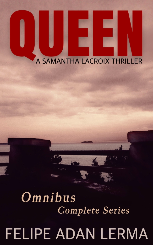 Cover of the novel, Queen : a inter-generational multi-POV crime thriller set in Vermont - https://amzn.to/ Written by Felipe Adan Lerma .